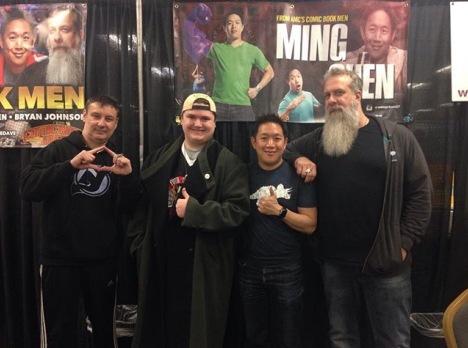 Steel City Con 2017 - Silent Bob | Comic Book Men