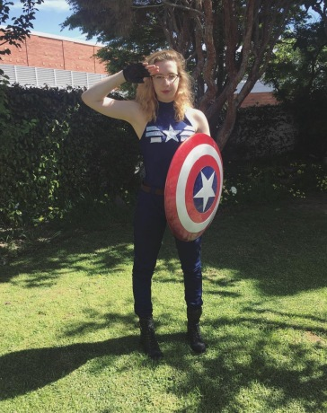 SVCC 2017 Cosplay - Captain America 2