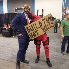 SVCC 2017 Cosplay - Deadpool & Bane 2