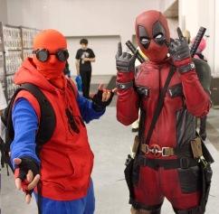 SVCC 2017 Cosplay - Spider-Man & Deadpool