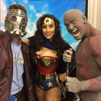 SVCC 2017 Cosplay - Starlord | Drax | Wonder Woman