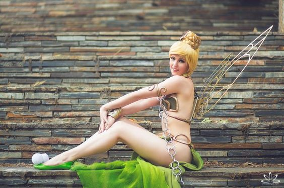 Tinkerbell Leia Cosplay 3