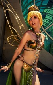 Tinkerbell Leia Cosplay 5