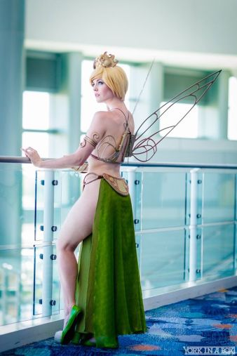 Tinkerbell Leia Cosplay 9