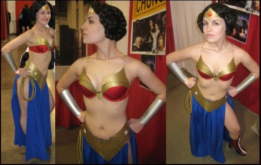 Wonder Woman Leia Cosplay 2