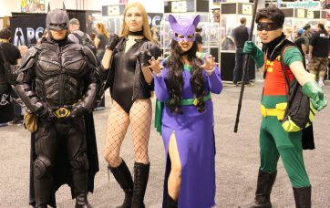 WonderCon 2017 Cosplay - Batman | Black Canary | Robin