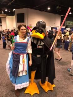 WonderCon 2017 Cosplay - Belle | Darth Duck Vader