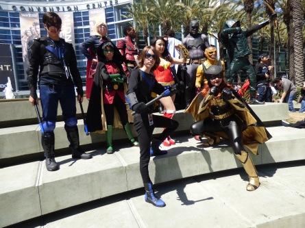 WonderCon 2017 Cosplay - Gotham Knights