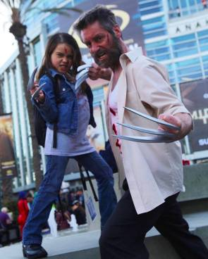 WonderCon 2017 Cosplay - Logan and X-23 (2)