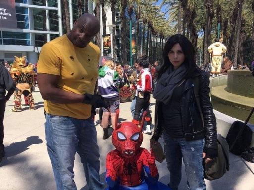 WonderCon 2017 Cosplay - Luke Cake | Jessica Jones
