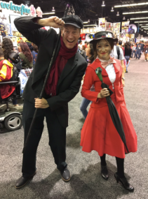 WonderCon 2017 Cosplay - Mary Poppins