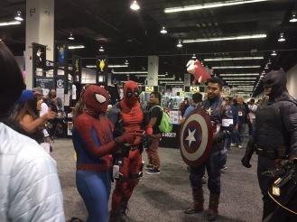 WonderCon 2017 Cosplay - Spider-Man | Deadpool | Captain America | Batman