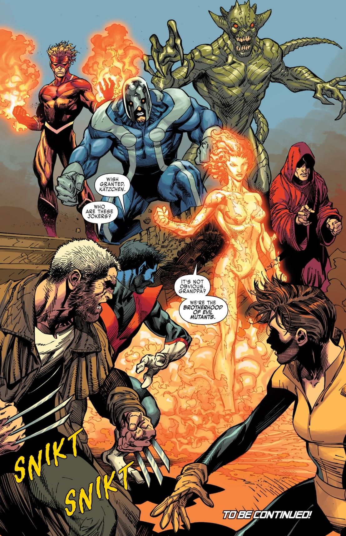X-Men Gold #1 Plot 1