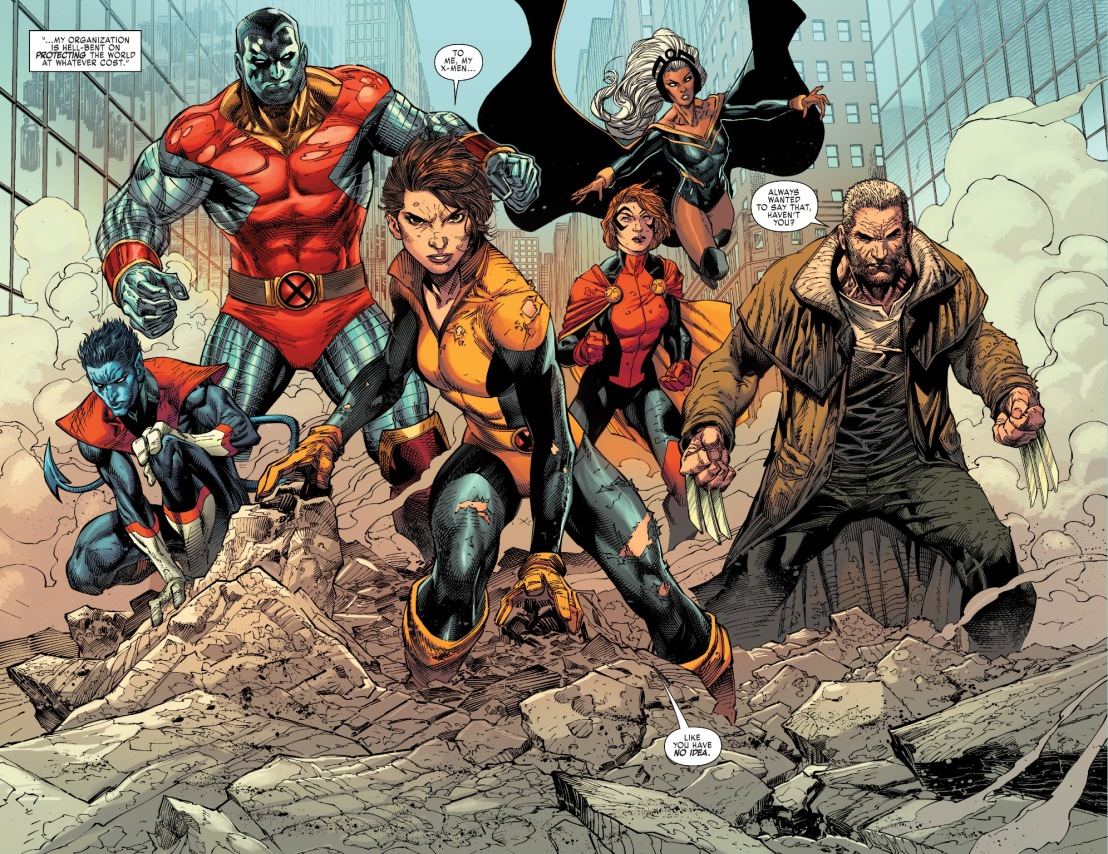 X-Men Gold #1 Plot 3