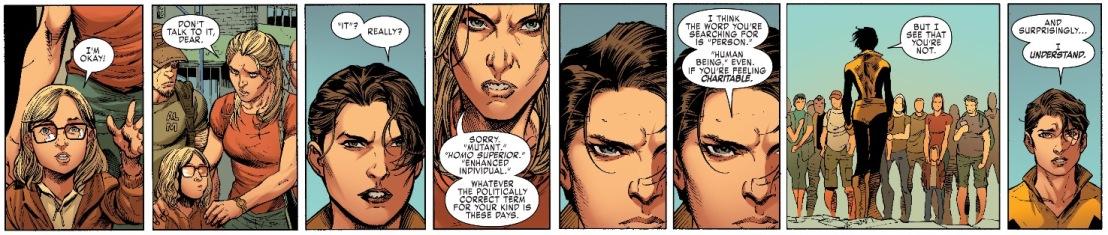 X-Men Gold #1 Plot 4