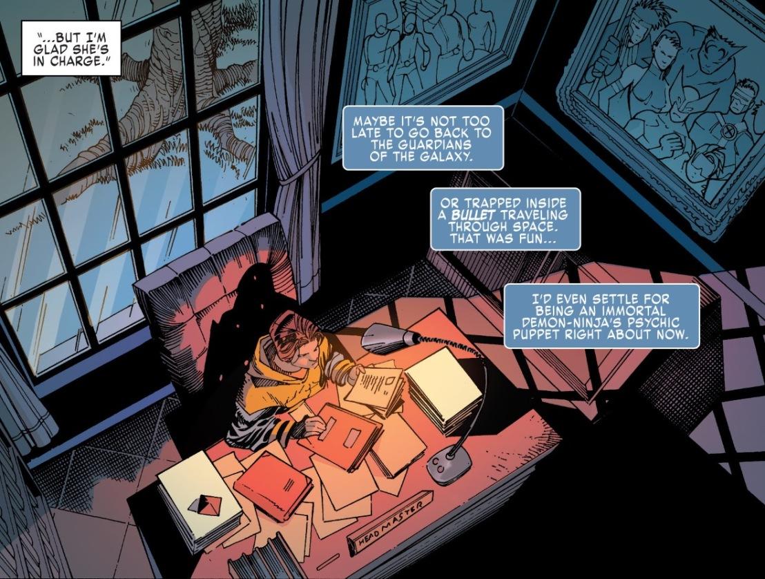 X-Men Gold #1 Plot 6