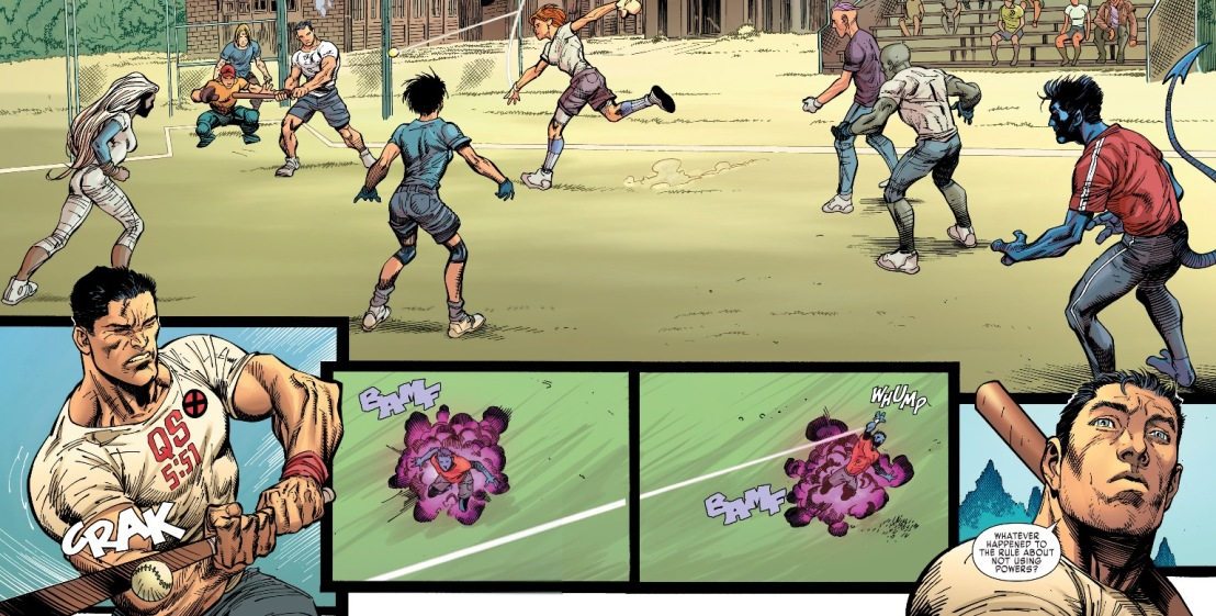X-Men Gold #1 Plot 9