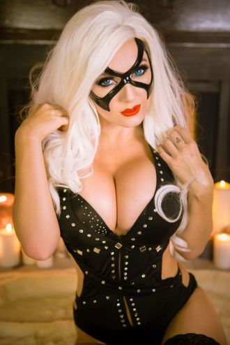 Black Cat by Jessica Nigri 4