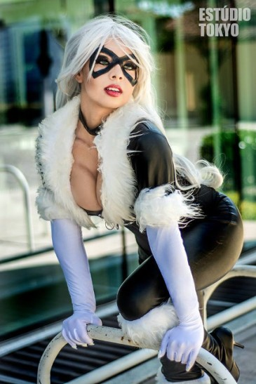 Black Cat by Polly Cosplay 3