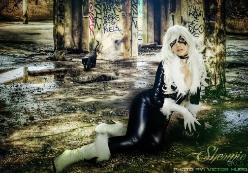 Black Cat by Shermie Cosplay 8