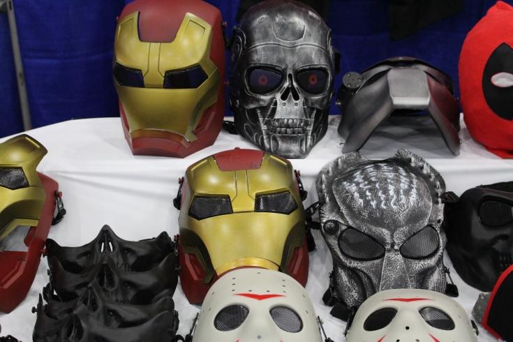 Comicpalooza 2017 - Masks 1