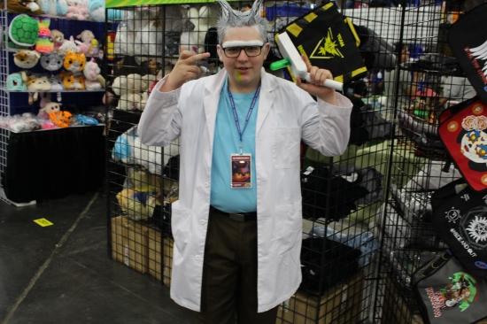 Comicpalooza 2017 - Rick (and Morty)