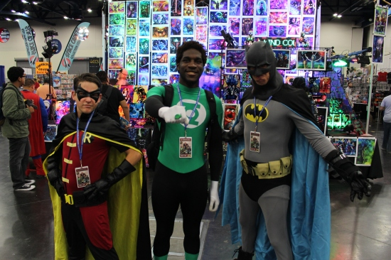 Comicpalooza 2017 - Robin | Green Arrow | Batman