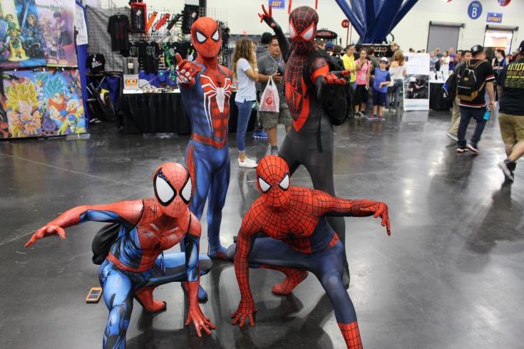 Comicpalooza 2017 - Spider-Men 2