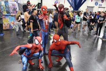Comicpalooza 2017 - Spider-Men