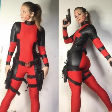 Lady Deadpool by Sweetheart Tart Cosplay