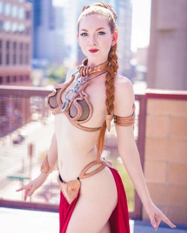 Slave Leia by Ashlynne Dae