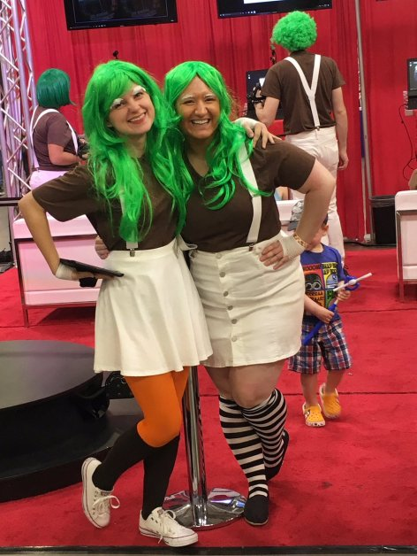 Wizard World Minneapolis 2017 Cosplay - Oompa Loompa
