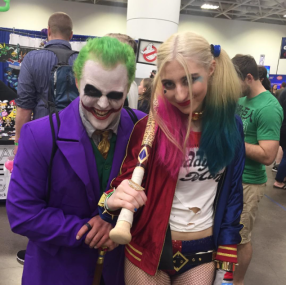 Wizard World Minneapolis 2017 - Joker | Harley Quinn