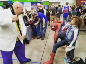 Wizard World Minneapolis 2017 - Kingpin | Spider-Man | Spider-Gwen