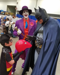 Wizard World Minneapolis 2017 - Robin | Joker | Batman