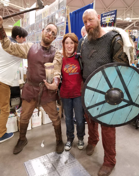 Wizard World Minneapolis 2017 - Vikings